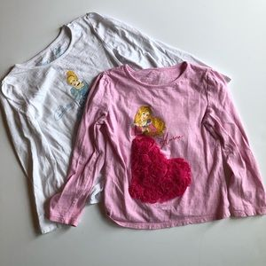 Jumping Beans Disney Princess Tees
